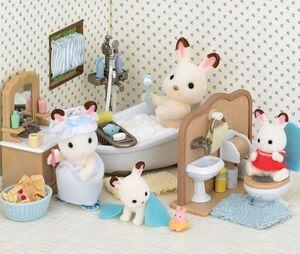 Sylvanian Families - Set cuarto de baño