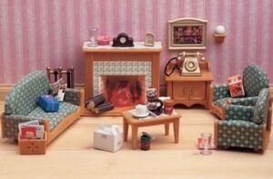 Sylvanian families - Set sala de lujo