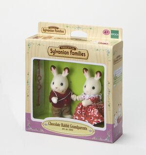 Sylvanian - Abuelos Conejos Chocolate