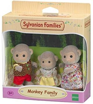 Sylvanian - Familia 3 monos