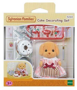 Sylvanian - Set para decorar pasteles
