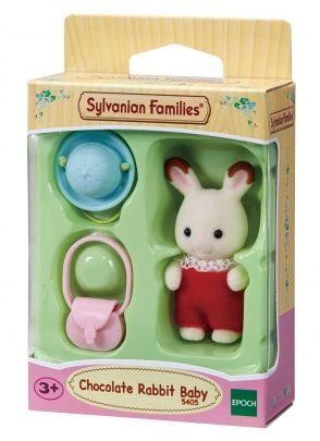 Sylvanian Families - Bebé conejo chocolate