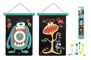 Scratch - dardos magnéticos monstruos grande