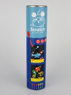 Scratch - Dardos magnéticos Mar pequeño 24x30cm