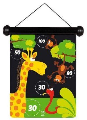 Scratch - Dardos magnéticos Zoo pequeño 24x30cm