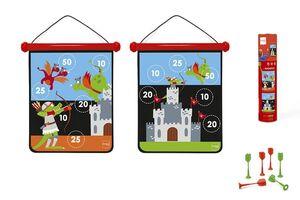 Scratch - dardos magnéticos castillo mediano