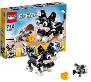 LEGO Creator - Criaturas Peludas (perro etc.) 3in1 (31021)