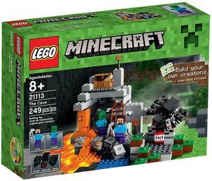 Lego Minecraft - La Cueva - 21113