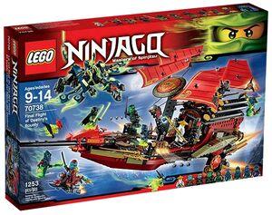 Lego Ninjago - El Vuelo Final del Barco de Asalto Ninja - 70738