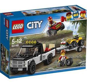 Lego city - Todo terreno del equipo de carreras