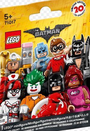 Lego - Minifigura Batman 2017
