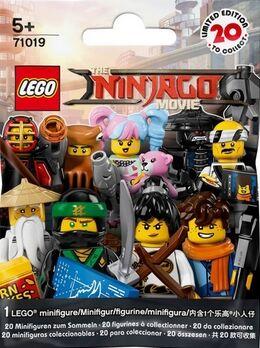 Lego - Minifiguras ninjago movie 2017