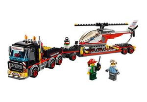 Lego - Camión de transporte de mercancías pesadas