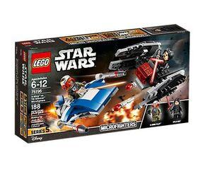 Lego- Microfighters: Ala-A vs. Silenciador