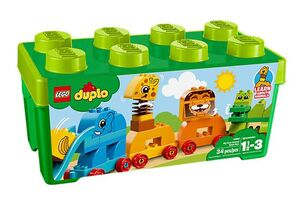 Lego - Caja de ladrillos: Mis primeros animales