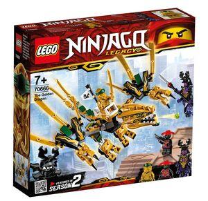 Lego Ninjago - Dragón Dorado