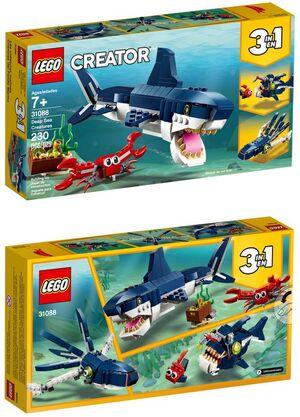 Lego Creator - Criaturas del Fondo Marino 3x1 (31088)