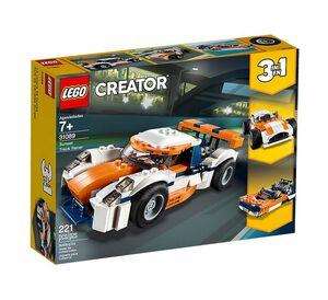 Lego Creator - Deportivo de Competición Sunset 3 en 1 (31089)