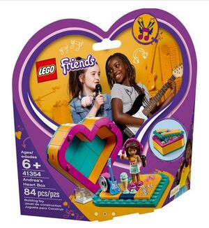 Lego Friends - Caja Corazón de Andrea