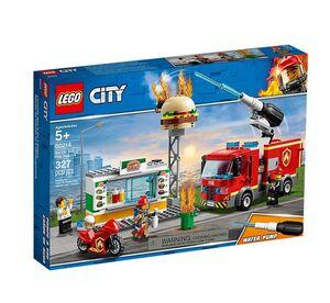 Lego - City Rescate del Incendio en la Hamburguesería