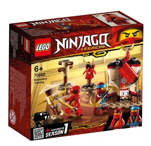 Lego Ninjago - Entrenamiento en Monasterio