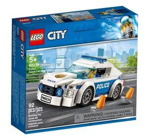LEGO CITY POLICE - COCHE PATRULLA DE LA POLICIA
