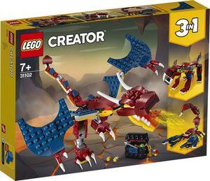 LEGO - LEGO CREATOR DRAGON LLAMEANTE