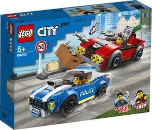 LEGO CITY - POLICE POLICIA ARRESTO EN LA AUTOPISTA