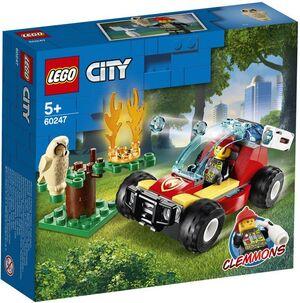 LEGO CITY - FIRE INCENDIO EN EL BOSQUE