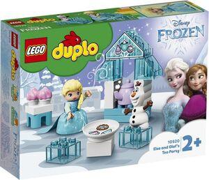 LEGO DUPLO - PRINCESS FIESTA DE TE DE ELSA Y OLAF