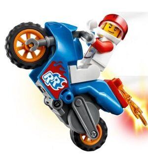 LEGO - LEGO CITY MOTO ACROBATICA: COHETE