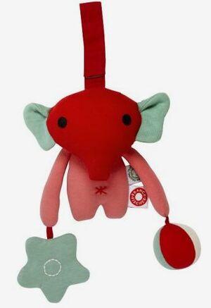 Franck Fischer - Andrea elefante rosa para colgar sensorial