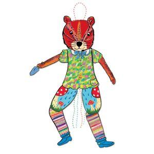 eeBoo - Pull Puppet Ardilla (títere de cuerda)