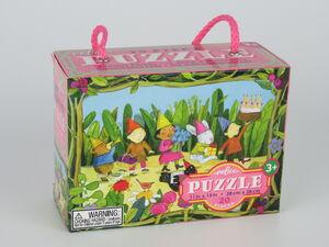eeboo - Mini puzzle Feliz cumpleaños 20 piezas