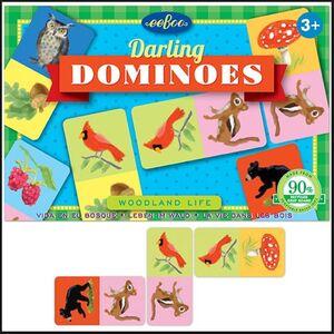 eeBoo - Domino pequeños Dominos Queridos