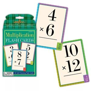 Eeboo - Flash Cards Multiplicación