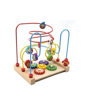 Three-wire Fruit Winding Bead (laberinto)