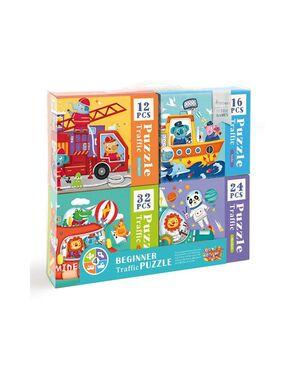 Andreu Toys - Beginner Traffic Puzzle