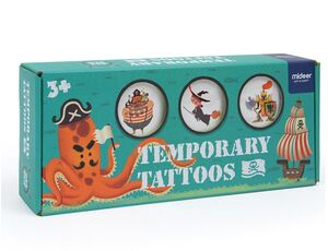 Tatoos temporales Piratas