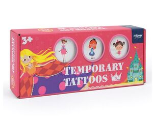 Tatoos temporales Princesas