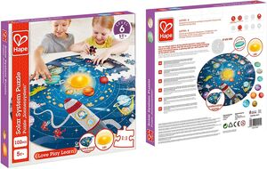 Hape - Puzzle Sistema solar 102pcs
