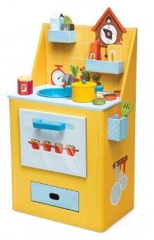 Kroom - Cocina cartón amarilla