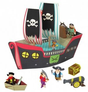 Kroom - Barco pirata