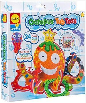 Alex - Octopus Juego pulpo bañera