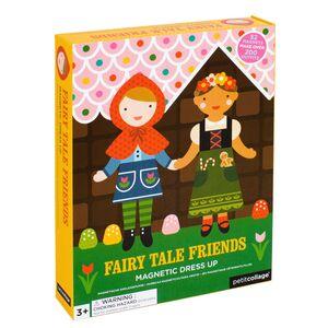 Petitcollage - Fairy Tale Friens - Magnético con 2 figuras para vestir