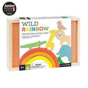 Petitcollage - Rainbow - Juego de equilibrios de madera
