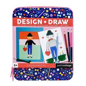 Petitcollage - Estuche de Diseño y Dibujo FAHION