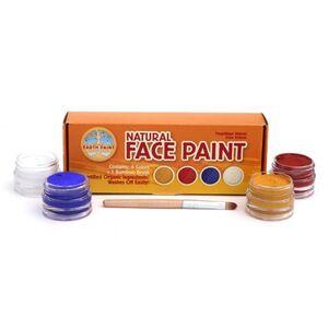 Natural Earth Paint - Pintura para la cara 4 colores