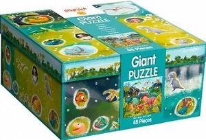 Ludattica - Puzzle gigante dinosaurios 48 piezas