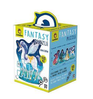 Ludattica - Fantasy Puzzle Unicornio 100 pcs